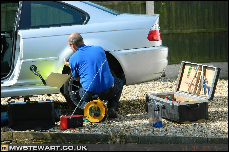 bmw e46 rear door trim removal