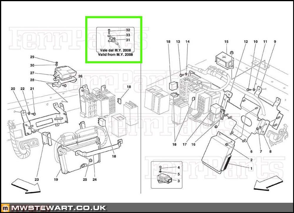 ferrari 512 tr for wiring diagram  ferrari  auto wiring