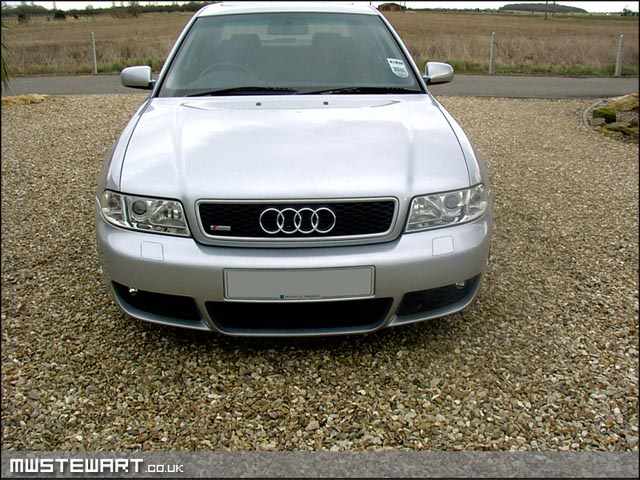 A4 B5 Facelift Front Bumper With Holes For Headlight