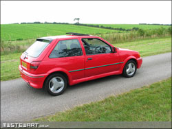 Red Fiesta RS Turbo Restoration