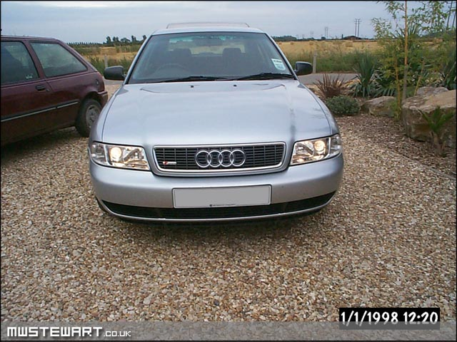 MWSTEWART CO UK | S4 Bonnet grille with S-Line badge & 1999 5 look